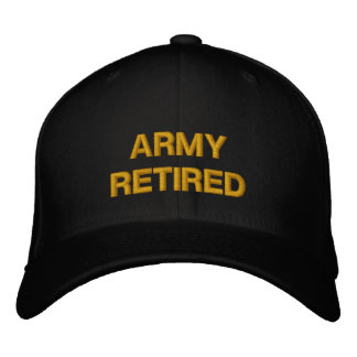 ARMY CAP EMBROIDERED BASEBALL CAPS