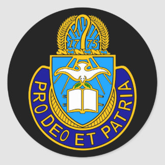 Army Chaplain Corp Crest Sticker