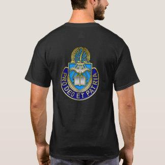 Army Chaplain Corp PT Shirt - Metallic
