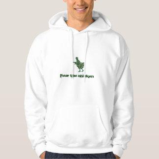army chicken sweater