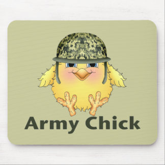 Army Chicks Mouse Pad