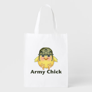 Army Chicks Reusable Grocery Bag