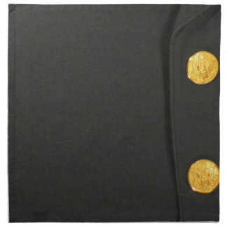 ARMY Class A Uniform Dres Monogram Initial Napkins