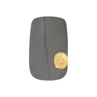 ARMY Class A Uniform Dress Finger Nail Stickers
