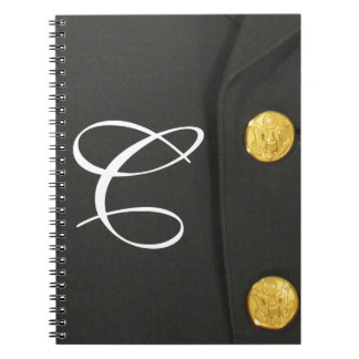 ARMY Class A Uniform Monogram Initial Note Book