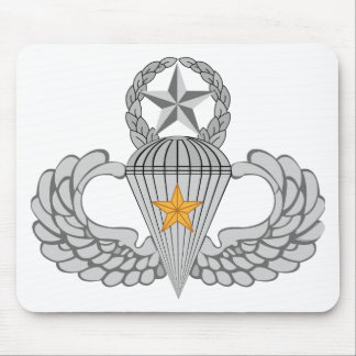 Army Combat Five Jump Wings Mouse Pad
