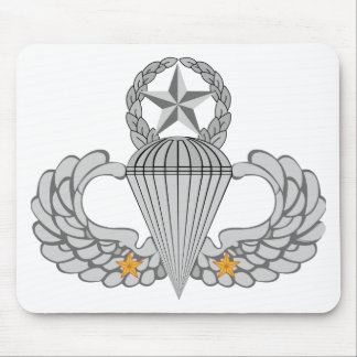 Army Combat Two jump Wings Mouse Pad
