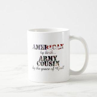 Army Cousin Grace of God Coffee Mugs