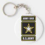 Army Dad Key Chain
