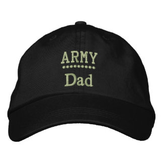 Army Dad Military Family Embroidered Hat