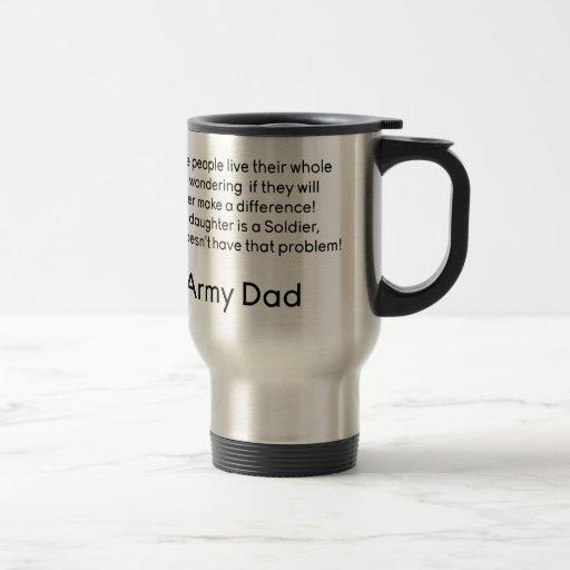 Army Dad No Problem Daughter Mug