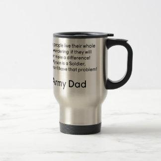 Army Dad No Problem Son Mugs