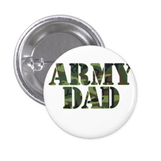 Army Dad Pinback Buttons