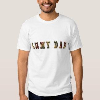Army Dad White Performance Micro-Fiber Singlet Shirts
