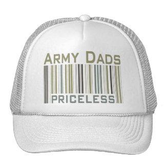 Army Dads Priceless Bar Code Cap