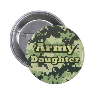 Army Daughter 6 Cm Round Badge