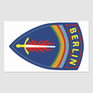 Army - Europe - Berlin Brigade Rectangular Sticker