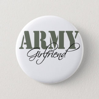 Army Girlfriend 6 Cm Round Badge