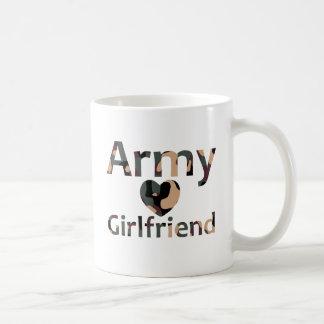 Army Girlfriend Camo Heart Coffee Mug