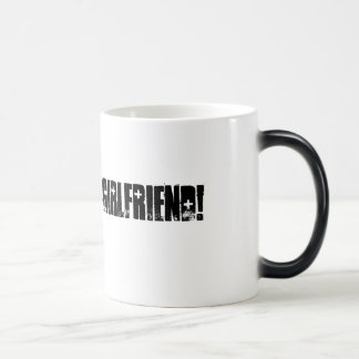 Army Girlfriend Magic Mug