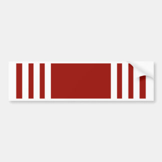 Army Good Conduct Ribbon Bumper Sticker