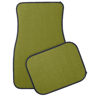 "ARMY GREEN (a ""you're not behind a plow"" color) ~ Floor Mat"