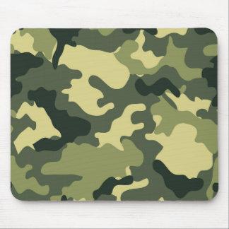 Army Green Camo Mousepad