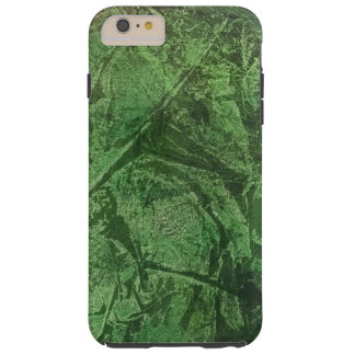 army green crackle phone cover