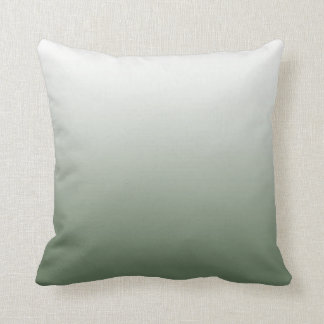 Army Green Ombre Pillow