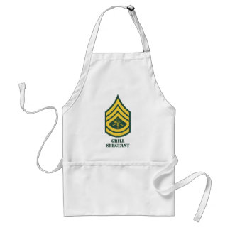 Army Grill Sergeant Aprons