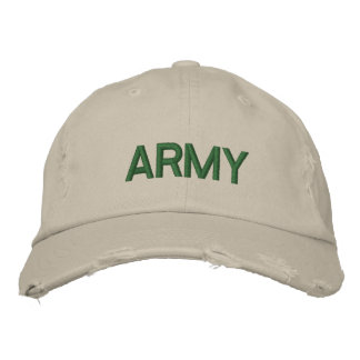 ARMY HATS EMBROIDERED HAT