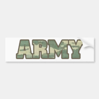 Army in Camo Bumper Sticker
