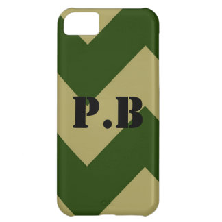 Army Inspired Customizable with your initials iPhone 5C Case
