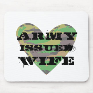 Army Issued Wife Mouse Pad