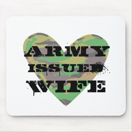 Army Issued Wife Mousepads