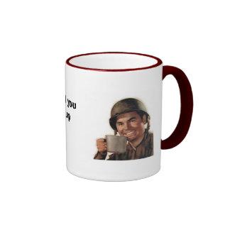 army man plain, Don't make me kill you before m... Mug