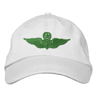 Army Master Airman Embroidered Baseball Caps