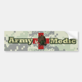 Army Medic Bumper Sticker