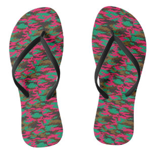 0b62c2bf9c0453 Army Military Pink Camouflage Thongs