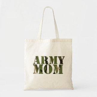 Army Mom Budget Tote Bag