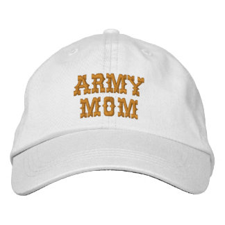ARMY MOM CAP EMBROIDERED HAT