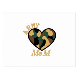 Army Mom Postcard