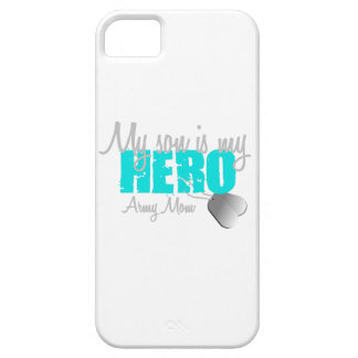 Army Mom Son is my  Hero iPhone 5 Covers