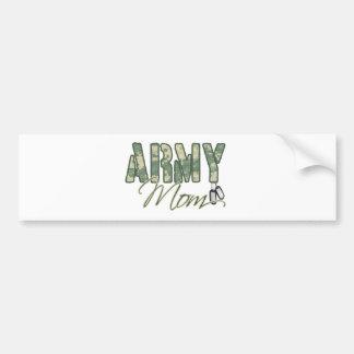 army mom with dog tags copy car bumper sticker