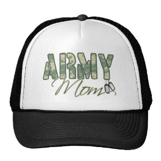 army mom with dog tags copy cap