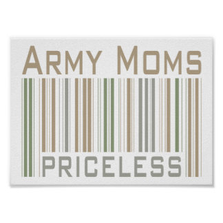 Army Moms Poster