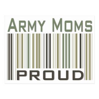 Army Moms Proud Postcard
