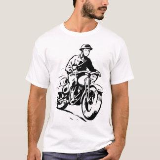 Army Motorcyclist Mens T-Shirt