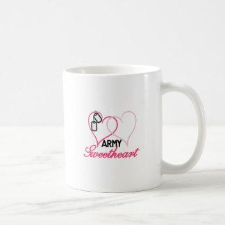 Army Basic White Mug