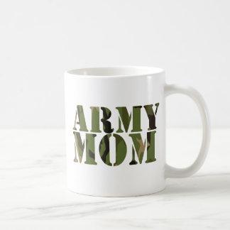 Army Mum Basic White Mug